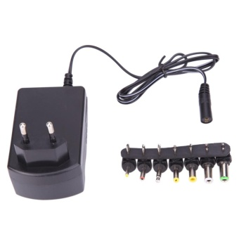 3.0A Universal AC DC Adapter Converter 6 Plugs 12V Power Charger EU- intl