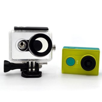 30M Waterproof Housing Case for Xiaomi Yi Action Camera - Black - intl - 2