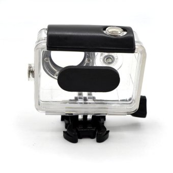 30M Waterproof Housing Case for Xiaomi Yi Action Camera - Black - intl - 4