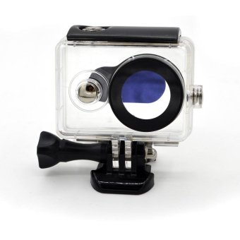 30M Waterproof Housing Case for Xiaomi Yi Action Camera - Black - intl