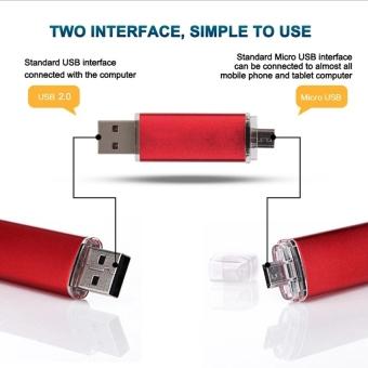 32GB OTG Micro USB 2.0 Flash Memory Drive Stick Pen Thumb U Disk (Black) - Intl - 4