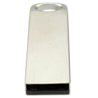 32GB Portable Mini Metal Silver USB 2.0 Flash Stick Memory Drive Pen Storage - picture 2
