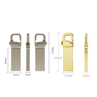 32GB USB 3.0 Hot Sale Waterproof Usb Flash Drive Mini Metal Pen Drive Metal usb Flash Memory Stick-gold - intl - 2