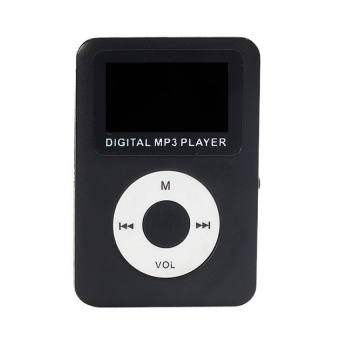32GB USB Digital MP3 Player LCD Screen (Black) - intl