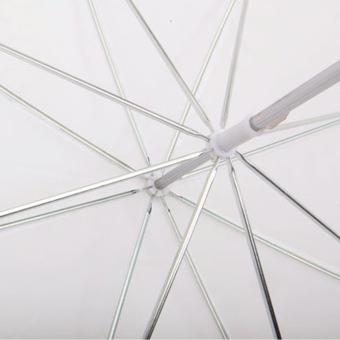 33in / 83cm Studio Flash Translucent White Soft Umbrella - picture 2