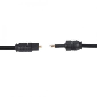 3.5 Audio Optic Fiber Cable Digital Optical Audio Cable Cord Kits(1.5m) -