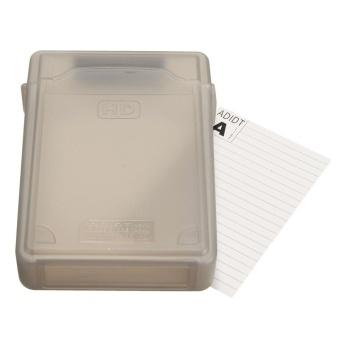 3.5'' inch IDE SATA HDD Hard Drive Disk Plastic Storage Box Case Enclosure Cover Gray - intl - 2