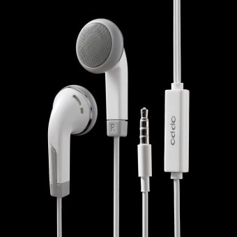 3.5mm In-ear Headhone Earphone with Remote and Mic for OPPO R7 -intl