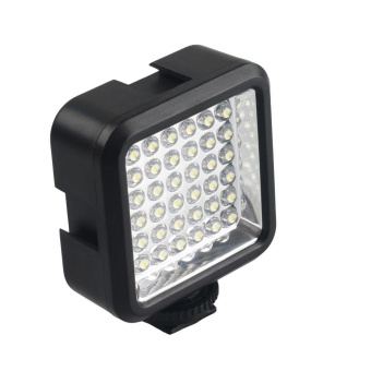 36 LED Video Light Lamp 4W 160LM for Nikon Canon DV CamcorderCamera + Charger - intl