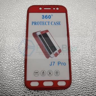 360 Case for Samsung Galaxy J7 Pro (red)