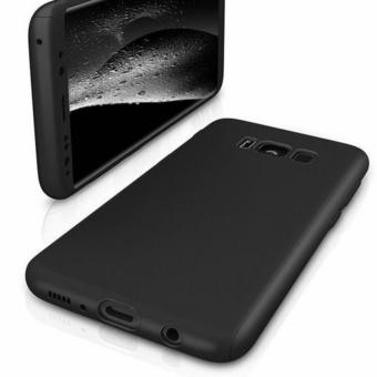 360 Degree Full Body Armor Case for Samsung Galaxy S8 Plus (Black) - 2