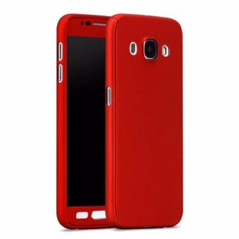 360 Degree Full Body Hard PC Protective Back Case With Tempered Glass For .