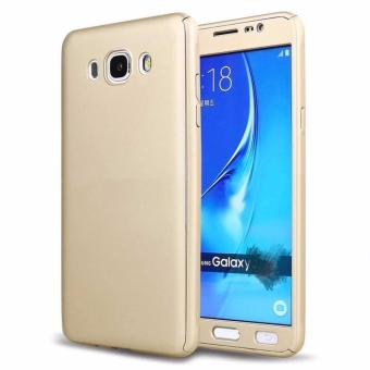 360 Degree Full Body Hard PC Protective Back Case With TemperedGlass For Samsung J2 prime (Gold) - intl Price Philippines