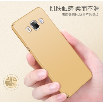 360 Degree Protective Case Ultra Thin PC Hard Case for SamsungGalaxy A7000/A7 2015(Rose gold) - intl - 3