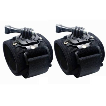 360-Degree Rotating Wrist Strap for GoPro and SJCAM Black Set of 2
