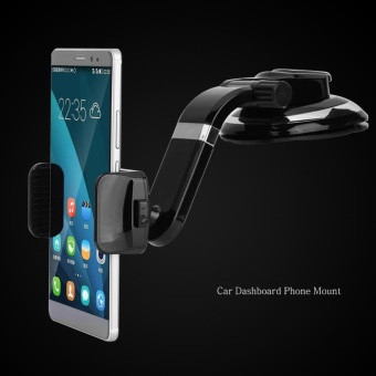 360 Degree Rotation Car Phone Mount Mobile Holder - intl