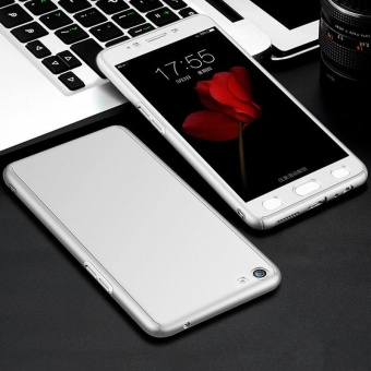 360 Full Body Coverage Protection Hard Slim Ultra-thin Hybrid CaseCover & Skin with Tempered Glass Screen Protector for Vivo Y55- intl