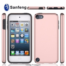 360 Full Cover Shockproof Case For Ipod Touch 5/Touch 6 (Rose Gold)