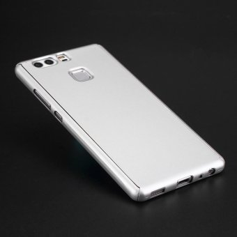 360 Full Hard Cover for HuaWei P9 PC Back Anti-knock Phone Bags Cases +Toughened Glass For HuaWei P9 Lite - intl - 3