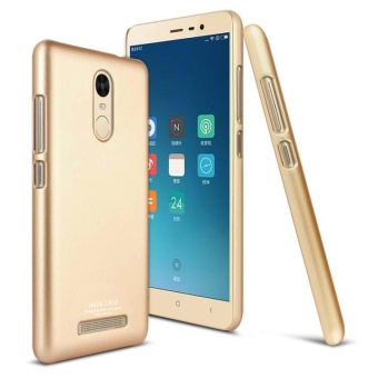 360 Full Protection Case For Xiaomi Redmi Note 3 (Gold)