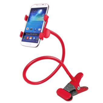 360 Rotating Flexible LazyPod Universal Mobile Phone Holder (Red)
