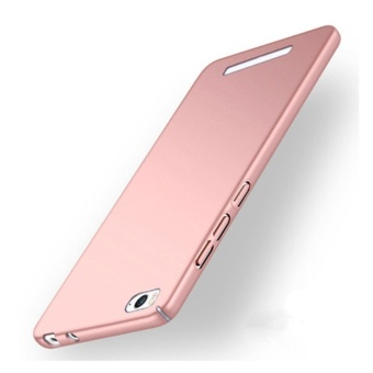 360 ultra-thin matte PC hard Case Cover For Xiao m i Mi 4i(4c(Rosegold) - intl