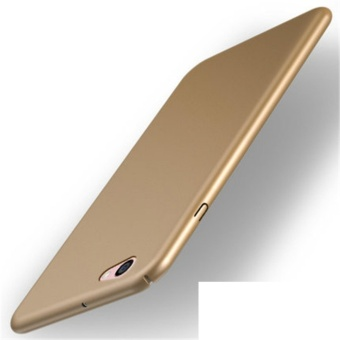 360 ultra-thin matte PC hard Cover Case For Oppo F3 Plus(Royal gold- intl