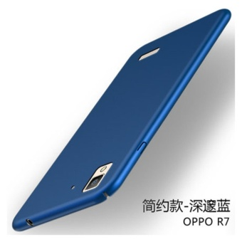 360 ultra-thin matte PC hard Cover Case For OPPO R7(Blue) - intl
