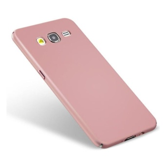360 ultra-thin matte PC hard Cover Case For S amsung Galaxy J22015(J200(Rose gold) - intl