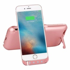 3800Mah External Battery Case Iphone 6 6S Rose Gold With Free Phone
