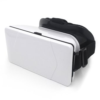 3D-03 VR Virtual Reality Glasses for Android/iOS Phones (White)