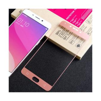 3D Curve Full tempered glass for Samsung A7 2017 tempered (rosegold)