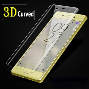3D Curved Colored Tempered Glass for Sony Xperia XA Ultra (Clear)