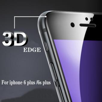 3D Full Arc edge Screen Tempered Glass Protector For Apple iphone 6plus / 6s plus (White) Price Philippines