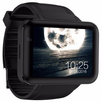 3G Wifi Smart Watch DM98 GPS Insert Card Video Call Watch(Black) -intl