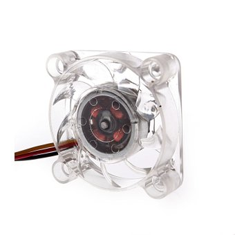 4 Centimetre Video Card Adapter Cooler Fan Transparent - 2
