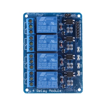 4-Channel Relay Module DC 5V Optocoupler For Arduino PIC ARM AVR DSP HD23L - picture 2