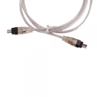4 Pin to 4-pin IEEE 1394 DV FireWire Cable for PC MAC (Intl)
