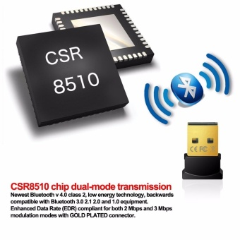 4.0 Bluetooth Adapter Usb Bluetooth Audio Receiver CSR4.0 + EDR -intl - 5