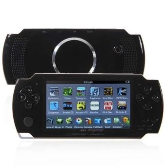 4.3-Inch TFT Screen MP4 MP5 PSP Game Camera Video E-book MusicBuilt-in a 8GB Memory Card and 3000 Video Games (Black)