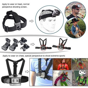 44-in-1 Accessories for GoPro HERO 5 Session 4 3+ 3 2 1 - intl - 2