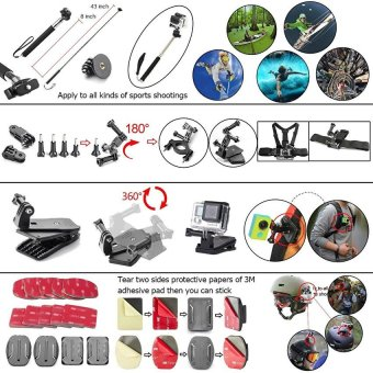 44-in-1 Accessories for GoPro HERO 5 Session 4 3+ 3 2 1 - intl - 3