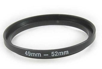 49mm-52mm 49-52 mm 49 to 52 Step Up Ring Filter Adapter - intl