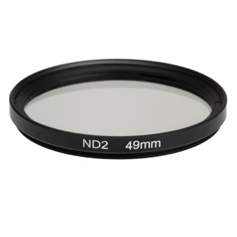 49mm ND2 Filter Neutral Density Filter Photography Filter for Nikon Canon Sony DSLR Cameras