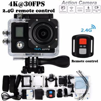 4K Dual Display Action camera Ultra HD with remote
