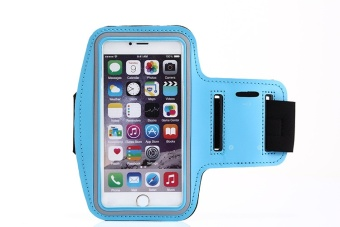 5-5.8 inches Mobile Phone Universal For iphone 6 6s 7 Plus case at hand GYM sports Arm band Case For iphone 6 6s 7 Plus Running phone holder - intl