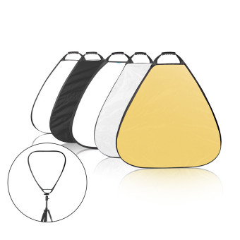 5-in-1 31.5 Inch Triangle Reflector with Handle for PhotographyPhoto Studio Lighting & Outdoor Lighting Price Philippines