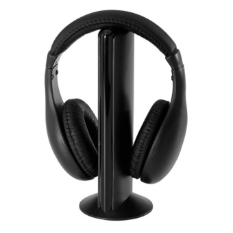 5 in 1 Radio Wireless Cordless Gaming Headphone Headset For PC TV - intl