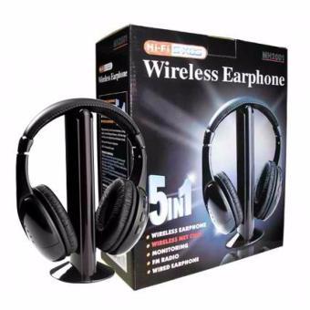 5-in-1 Wireless Headset - 5