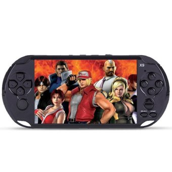 5.0 Inch 8GB Big LCD Screen PSP Handheld Game Console Built -in 400 Games Support MP4 Video/Audio - intl